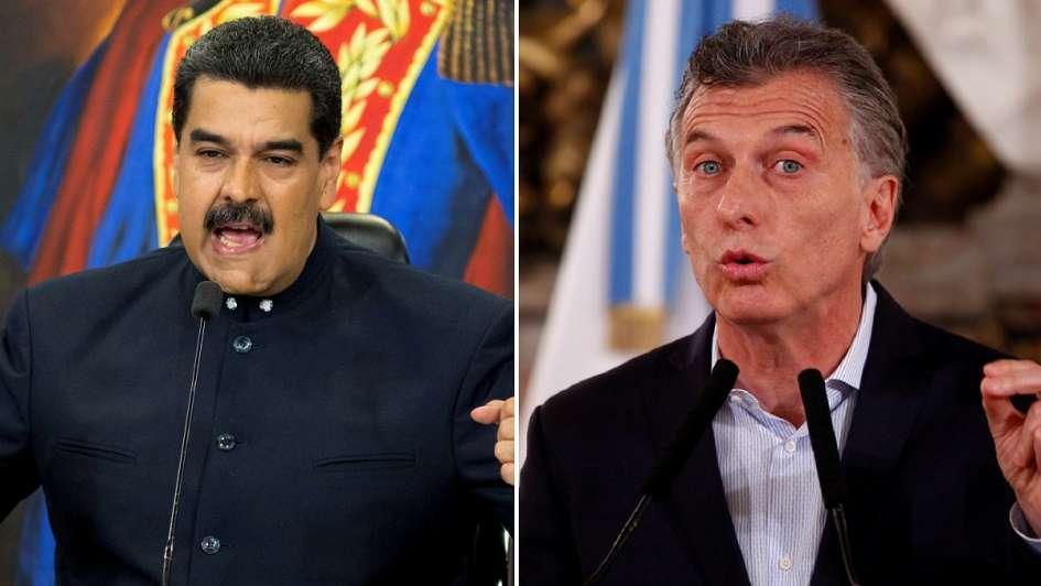 Maduro contra Macri: