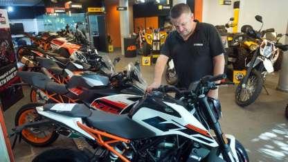 El año que se va fue un periodo para la venta de motos.