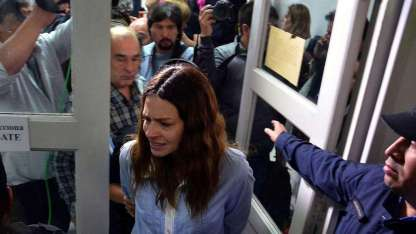 Julieta Silva está acusada de la muerte del rugbier Genaro Fortunato. Fue a la cárcel y ahora tiene prisión domiciliaria.