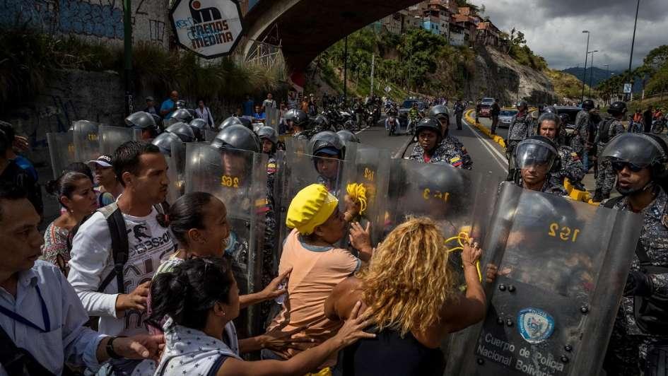 Guardia Nacional de Venezuela mata a joven embarazada