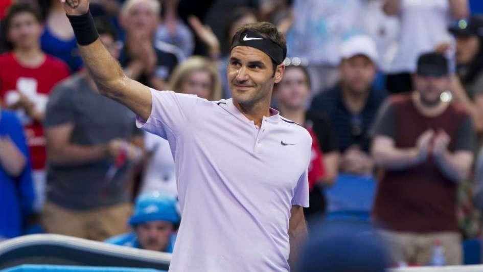 Federer le dio la Copa Hopman a Suiza
