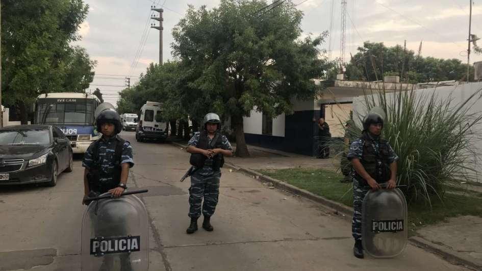 Tensión en una comisaría de Merlo por un motín con 27 presos