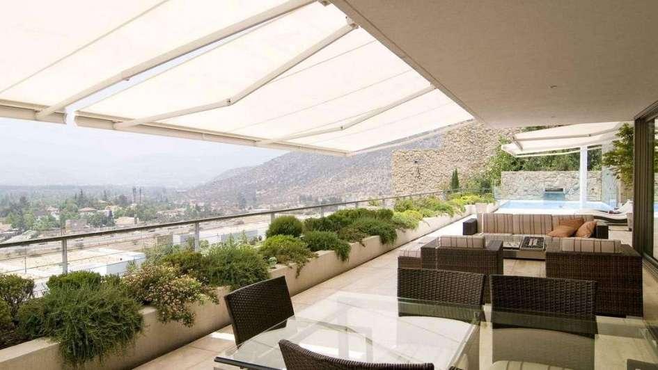protección para espacios exteriores con diseño y tecnología