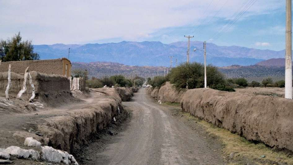 La Rioja, a Chile por Pircas Negras