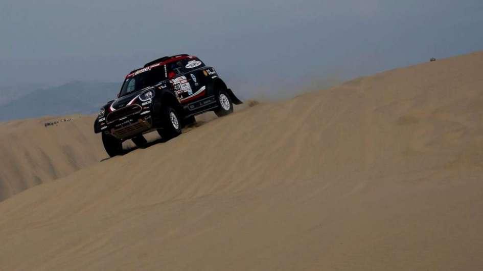 Villagra está tercero en camiones al finalizar la segunda etapa