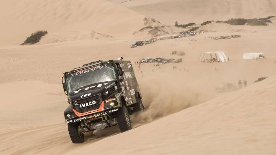 Camiones: Villagra quedó segundo