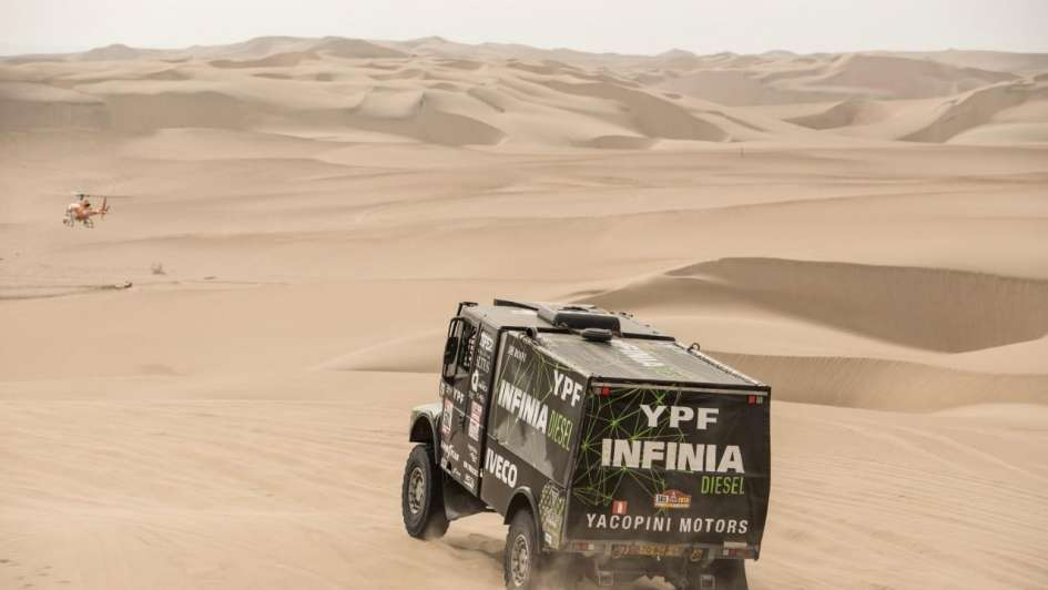Dakar Segundo puesto mendocino
