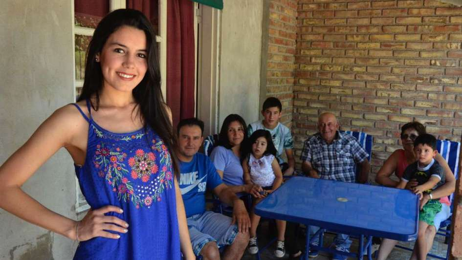 Karen, la reina de Santa Rosa que busca desarrollar el turismo local