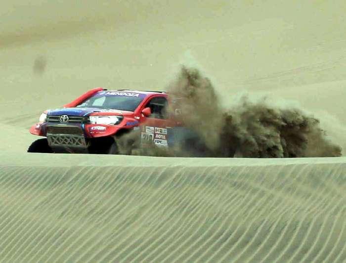 Noticia bomba: se acabó el rally para Sebastien Loeb