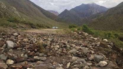 El Manzano Histórico se vio afectado por la fuerte tormenta.