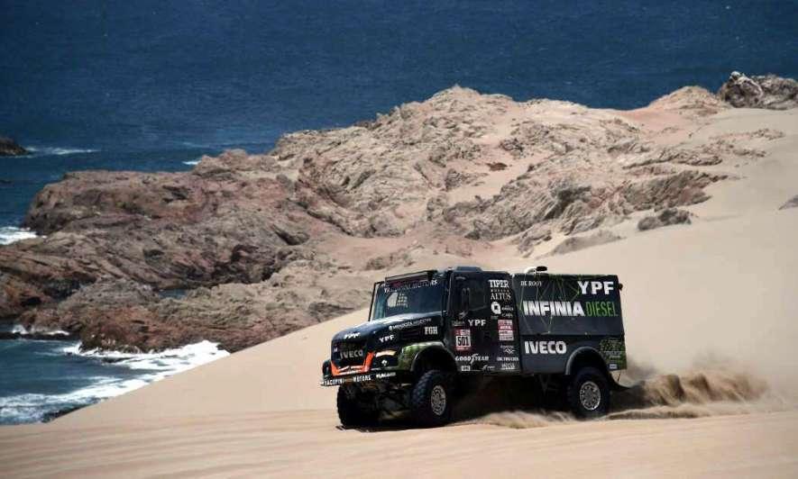 El argentino Villagra tercero en la general — Rally Dakar