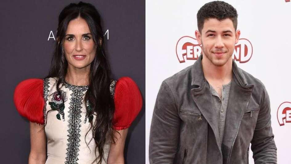 Demi Moore y ex Jonas Brothers estarían viviendo un intenso romance
