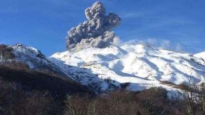 complejo volcánico Nevados de Chillán.