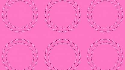 """""""Círculos rosas"""", la ilusión óptica que se viralizó en Twitter"""