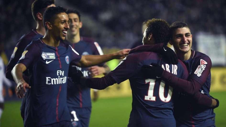 Los argentinos Di María y Lo Celso son semifinalistas con el PSG