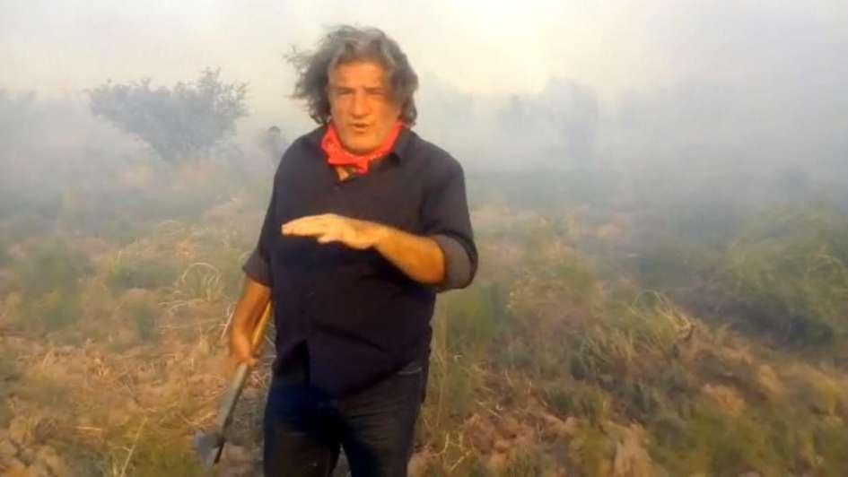 Ramón cruzó a Cornejo por sus dichos sobre los incendios: