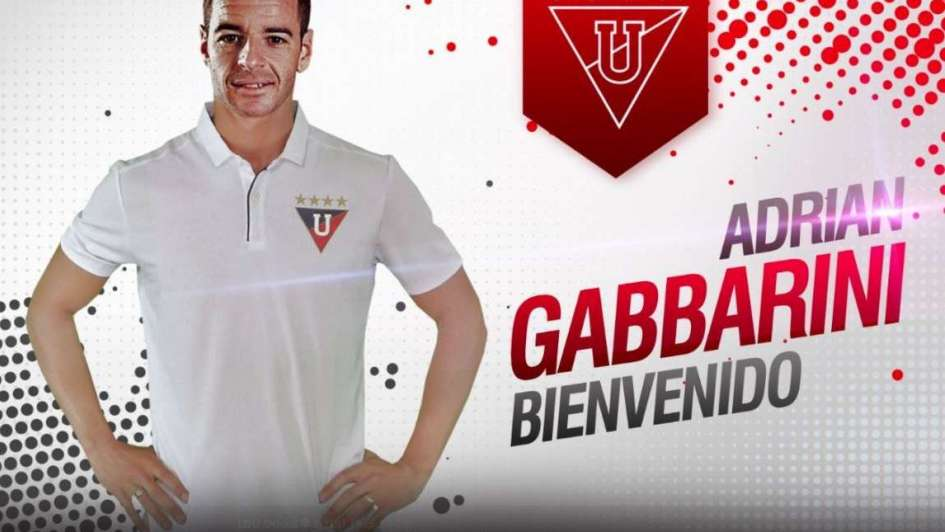 El mendocino Gabbarini dejó Olimpo y atajará en la Liga de Quito