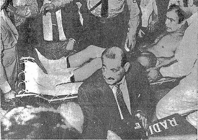 """Efemérides 12 de enero de 1970. Miguel Angel Páez le gana a """"Ringo"""" Bonavena"""