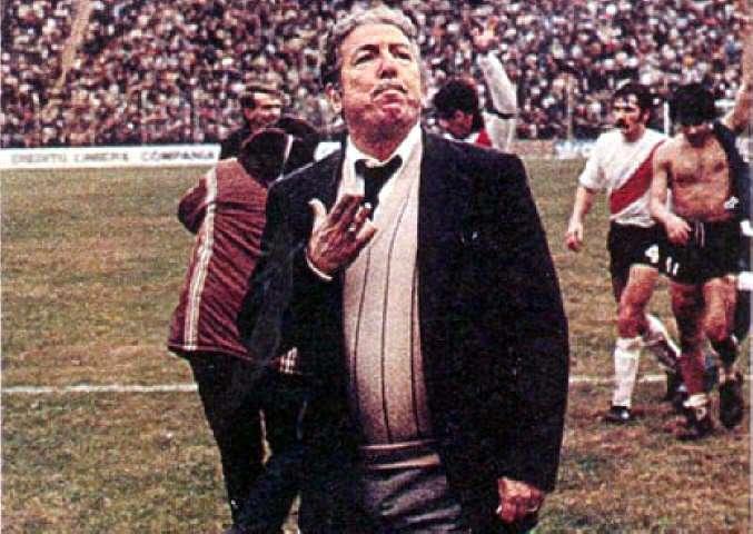 Efemérides 12 de enero de 1975. Ángel Amadeo Labruna asume como DT de River