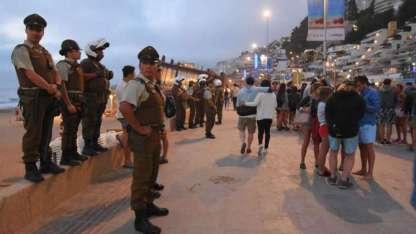 El fin de semana pasado, chicos mendocinos protagonizaron incidentes en Reñaca.