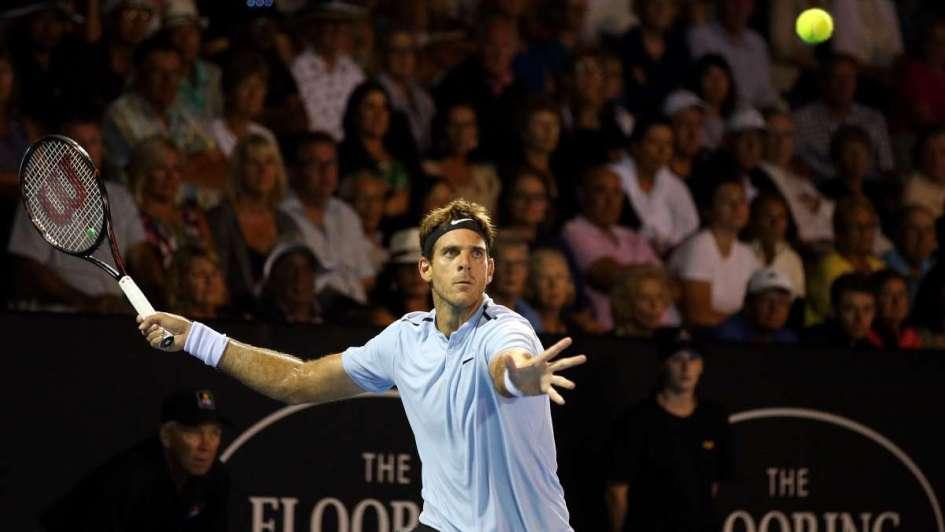 Confesión de Del Potro antes de la final del ATP 250 de Auckland frente a Bautista Agut
