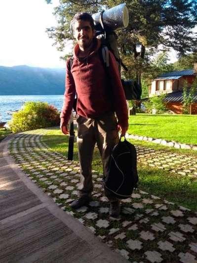 Intensa búsqueda de un joven desaparecido en un cerro de Bariloche