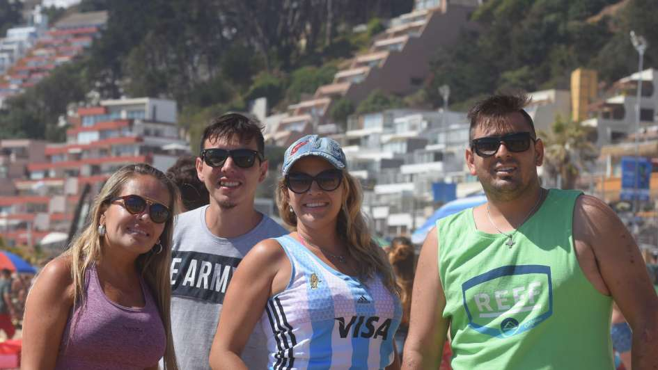 Los Andes en Reñaca: el verano se disfruta junto al mar
