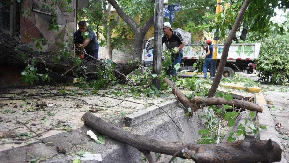 Alrededor de 100 personas fueron evacuadas debido a las fuertes tormentas en Tupungato