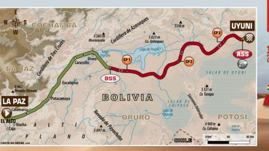 Dakar 2018: Barreda Bort se quedó por tercera vez con una etapa