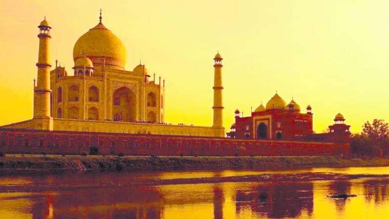 Limitarán visitas al Taj Mahal
