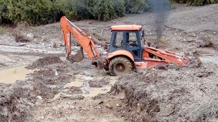 Por un aluvión, cortaron la ruta a Villavicencio y piden no viajar hacia esa zona