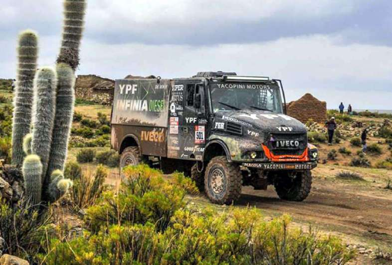 Villagra, un gigante entre los más pesados — Rally Dakar
