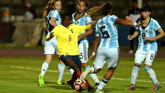 Sudamericano Sub 20: Argentina debutó con tres mendocinas y un triunfo sobre Ecuador