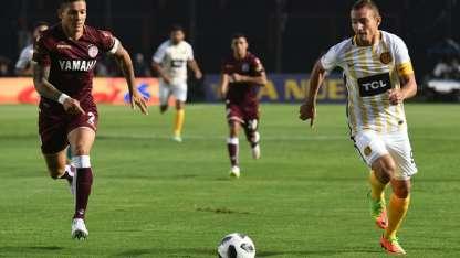 Marco Ruben, entre los titulares de Rosario Central.