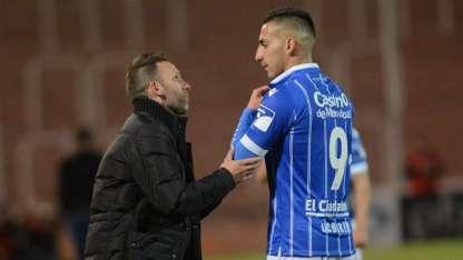 Bernardi y Correa generaron una buena relación en Godoy Cruz.