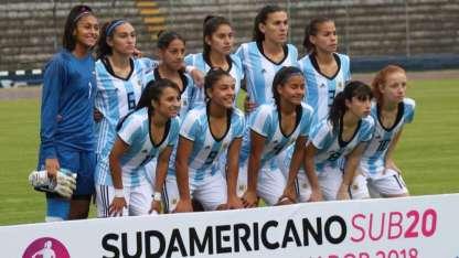 Argentina cayó en el segundo partido del sudamericano.