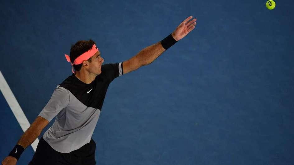 Australia Open: Del Potro barrió a Tiafoe y se metió en segunda ronda