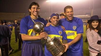 Bermúdez, Serna y Córdoba, los colombianos más queridos de Boca.