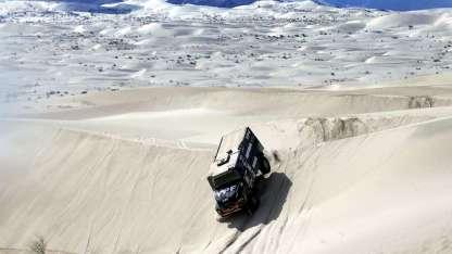El Iveco de los argentinos fue de menos a más en lo que va del Dakar y ahora comanda las posiciones.