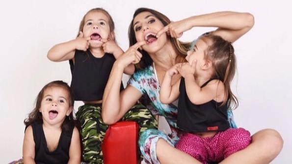 ¡Increíble! Cinthia Fernández metió a sus hijas en el baúl del auto