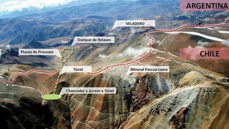 Pascua Lama: Barrick clausura definitivamente sus actividades y analiza una exploración subterránea