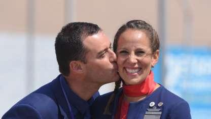 Paula Podest y Carlos Ciuffardi.