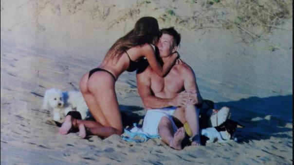 Las fotos hot de Barby Franco y Fernando Burlando — Mostraron sus colas