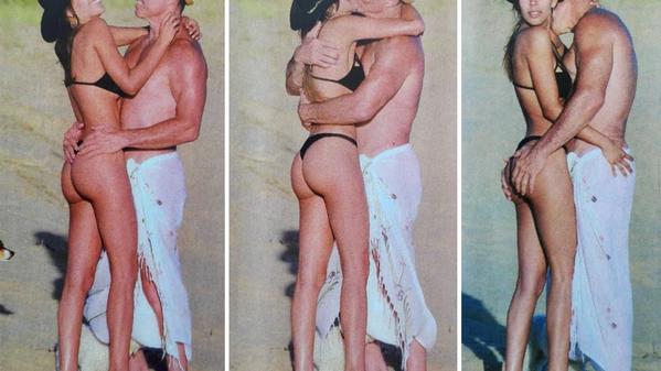 Las sensuales vacaciones de Fernando Burlando y Barby Franco