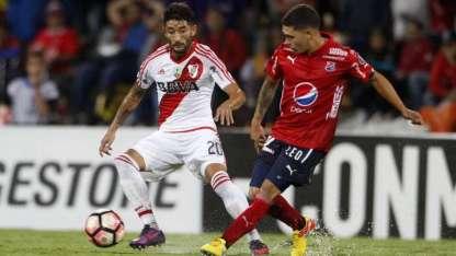 Quintero ya enfrentó a River y Gallardo lo marcó para el futuro.