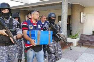 Efectivos de Interpol Uruguay