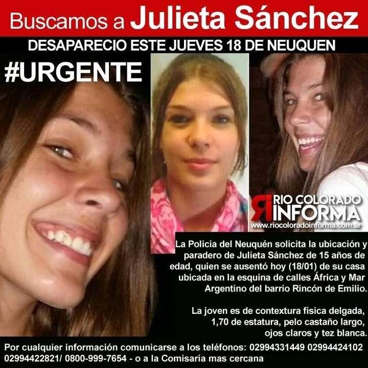 Entraron a robar a su casa y Julieta desapareció — Neuquén