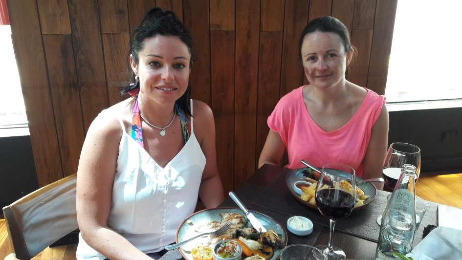 Grill Q de Park Hyatt Mendoza: almuerzos express en mediodías de verano