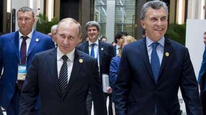 Putin y Macri se reunieron en 2016 en la cumbre del G20.