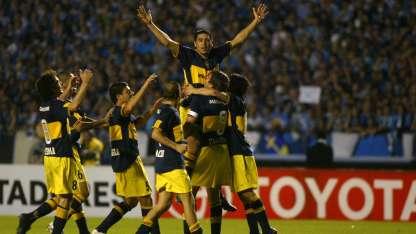 Para Riquelme, el principal objetivo de Boca tiene que ser la Copa Libertadores.